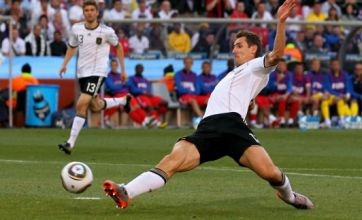 Klose and Podolski gives Germany the lead over England