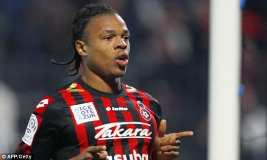Nice forward Loic Remy