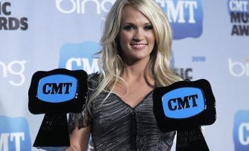 Underwood scoops two CMT Awards