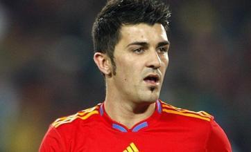 Del Bosque praises in-form Villa