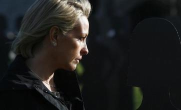 Gazza's ex tells hit women to leave