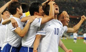 South Korea progress after draw