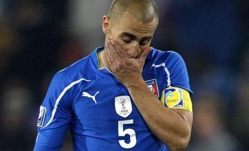 Cannavaro issues Italy warning