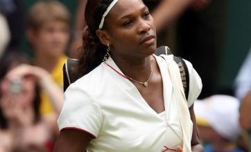 Serena shines on centre stage