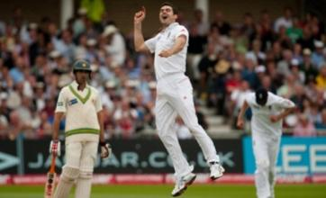 James Anderson's five-wicket haul puts England in control