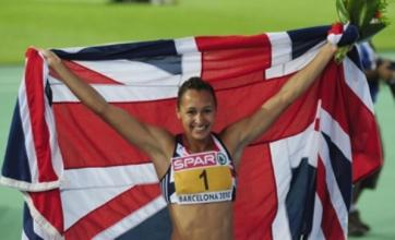 Jessica Ennis, Mo Farah and Dai Greene in British gold rush