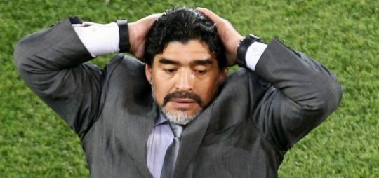 Diego Maradona has hinted that he may end his reign as Argentina coach