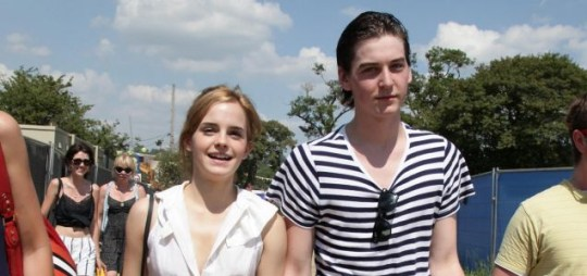 Emma Watson and new boyrfriend George Craig at Glastonbury (Photo: PA)