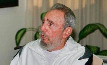 Fidel Castro all smiles in rare public appearance in Cuba
