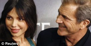 Actor Mel Gibson is accused of a foul-mouthed rant towards ex-girlfriend Oksana Grigorieva