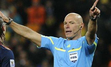 Howard Webb 'not a world-class referee' claims Holland's Arjen Robben