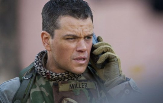 Green Zone stars Matt Damon