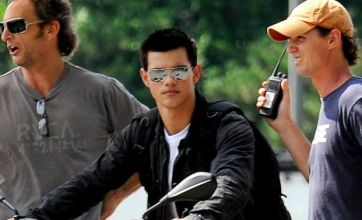 Taylor Lautner born to ride in Abduction