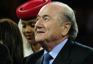 'Bellend': Sepp Blatter probably wasn't overly happy with his award
