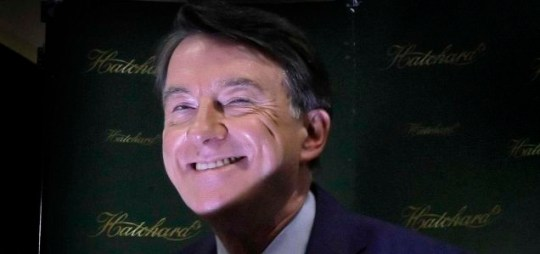 Peter Mandelson is in good spirits as he launches his memoirs at Hatchards in London