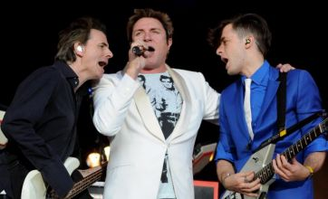 Roxy Music charm while Mark Ronson needs a helping hand at Lovebox