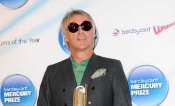 Paul Weller: I won't win Mercury Prize