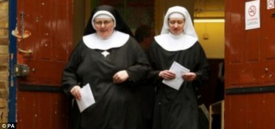 Two nuns have become fugitives after being told that they would be moved to a retirement home