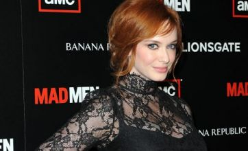 Size 14 Christina Hendricks is 'fabulous' role model, says minister