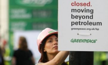 BP stations closed by activists as £20.8bn losses are revealed