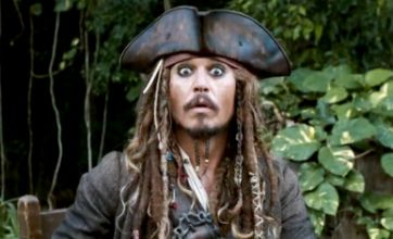 Johnny Depp introduces fans to Pirates Of The Caribbean 4