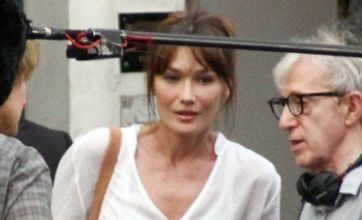 Carla Bruni messes up cameo in Woody Allen film