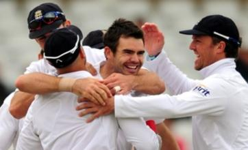 James Anderson's six-wicket haul clinches victory for England