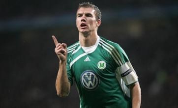 Edin Dzeko still keen on Manchester City transfer