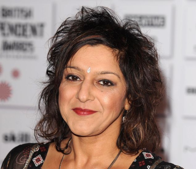 Meera Syal: Told Warren Clarke he made her 'moist' on the Kumars (Rex)