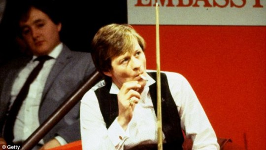 Alex 'Hurricane' Higgins courted controversy throughout his professional snooker career