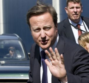 Battle: David Cameron denied Nato forces were losing