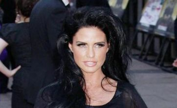 Katie Price shows off her bra: Dare to wear?