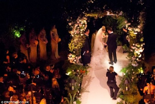 Hilary Duff and Mike Comrie married in a stunning ceremony in Santa Barbara