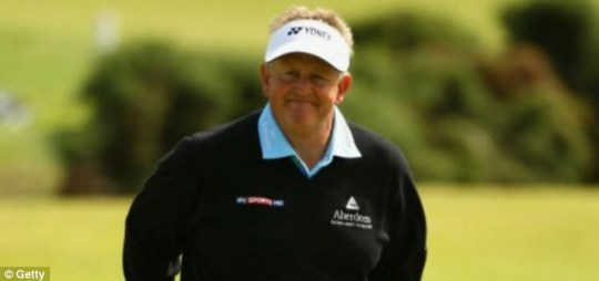 Troubled times: Colin Montgomerie
