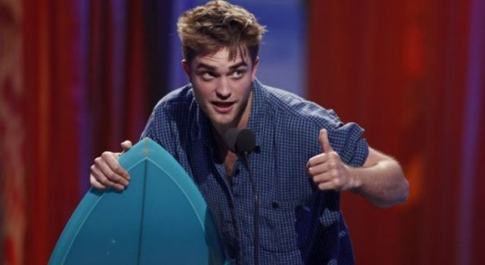 Robert Pattinson is the sexiest man in the world