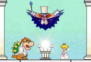 Super Paper Mario - The happy couple?