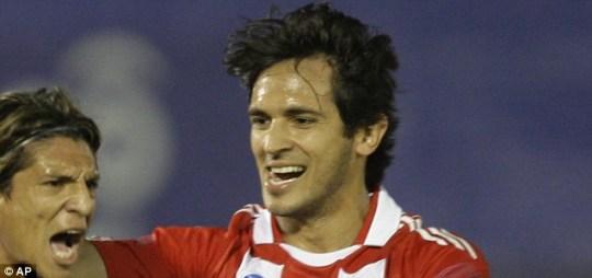 Paraguay star Roque Santa Cruz
