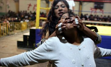 Meet the wrestling women of Bolivia