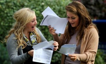 A-level students offered university places in China