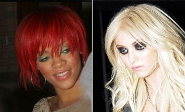 Rihanna vs Taylor Momsen: Celebrity Face Off