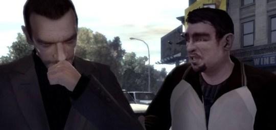 Grand Theft Auto IV - everybody remembers Roman