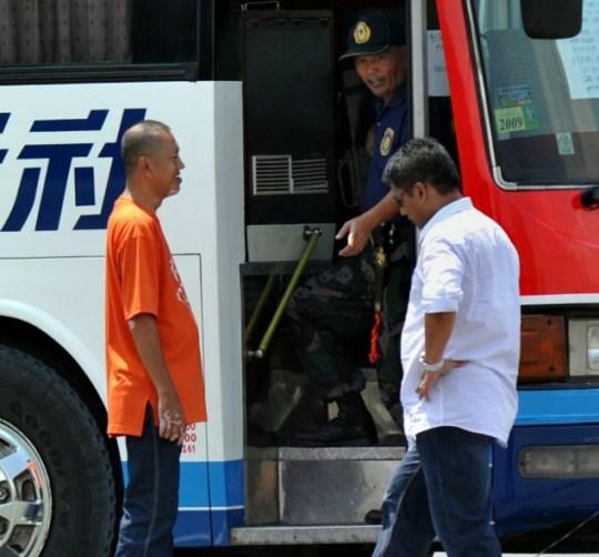 Rolando Mendoza, hijacked bus Manila