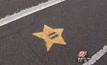YouTube video: Mario Kart power-ups appear in Portland's bike lanes