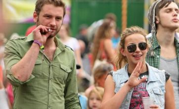 Charlotte Church getting close to new man at Green Man festival?