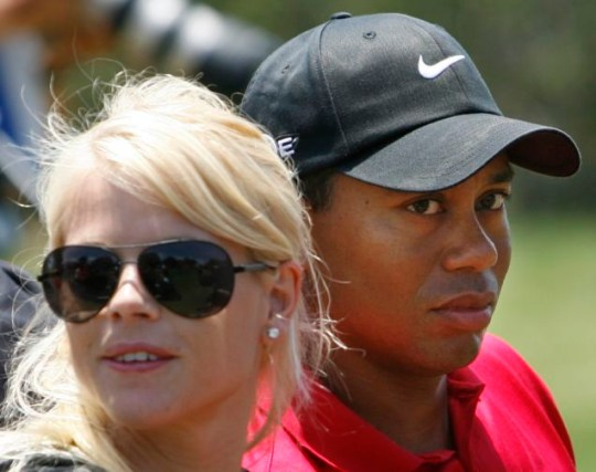 Tiger Woods and Elin Nordegren: Rumours of a $750m divorce settlement are rife (Reuters)