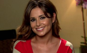 Cheryl Cole 'desperate to get back in shape'
