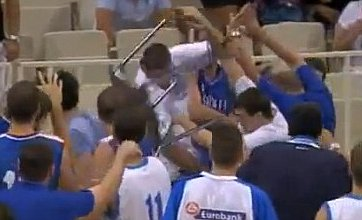 Best of the Web videos: Kitic own goal, Serbia v Greece basketball fight