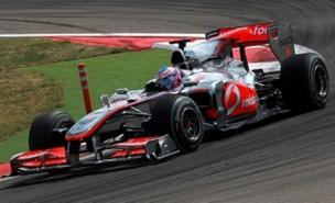 Jenson Button was much quicker than Lewis Hamilton (Allstar)