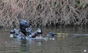 Police divers found body parts in the River Aire (PA)