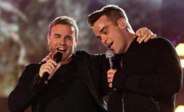 Robbie and Gary choose Strictly over X Factor